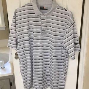 Men's Callaway short sleeve shirt.